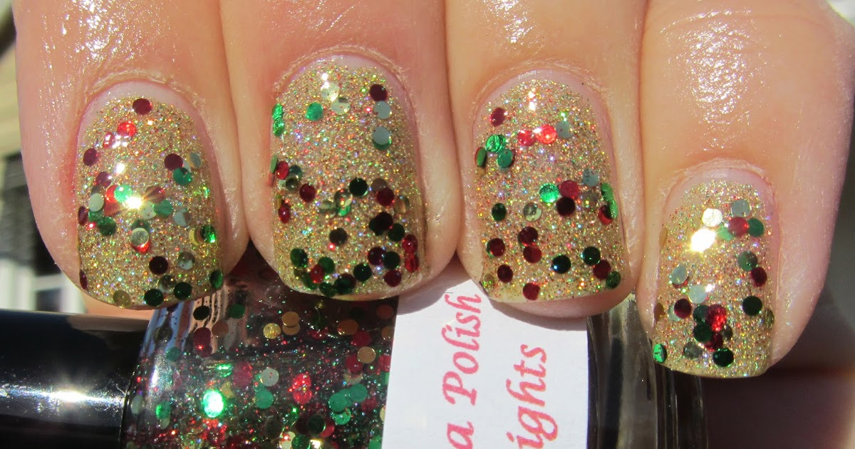 Nails Art: My Nail Polish Obsession: Darling Diva Polish Holiday Lights