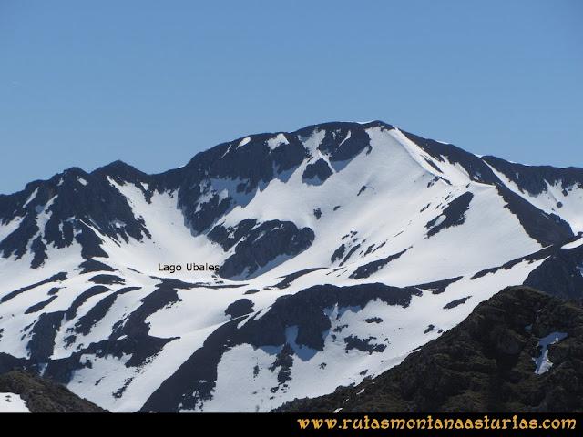 Ruta Belerda-Visu La Grande: Vista del Lago Ubales