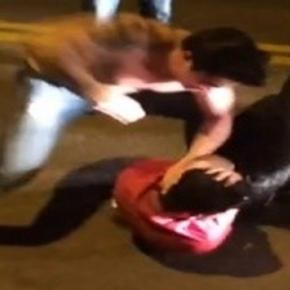 Vídeo: jovem é espancado até perder a consciência em final de festa