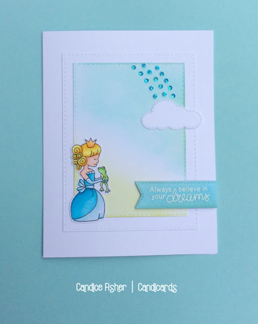 Always believe in your dreams by Candice features Once Upon a Princess by Newton's Nook Designs; #newtonsnook
