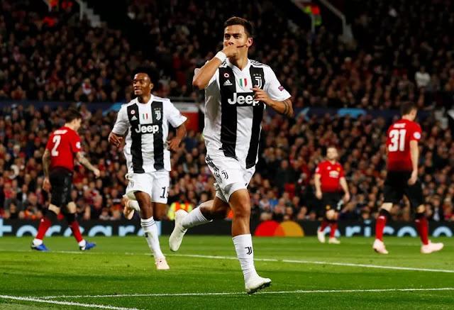 Hasil Pertandingan Man United vs Juventus di Liga Champions 2018-2019