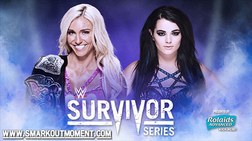 WWE Survivor Series 2015 Divas Title Match Charlotte vs Paige