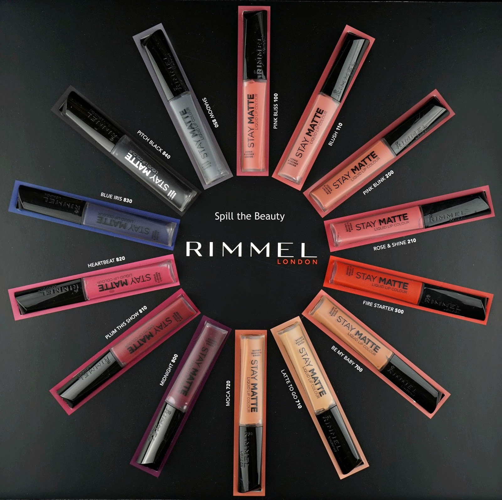 rimmel london stay matte liquid lip color review swatches