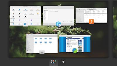 workspace di Elementary OS Loki