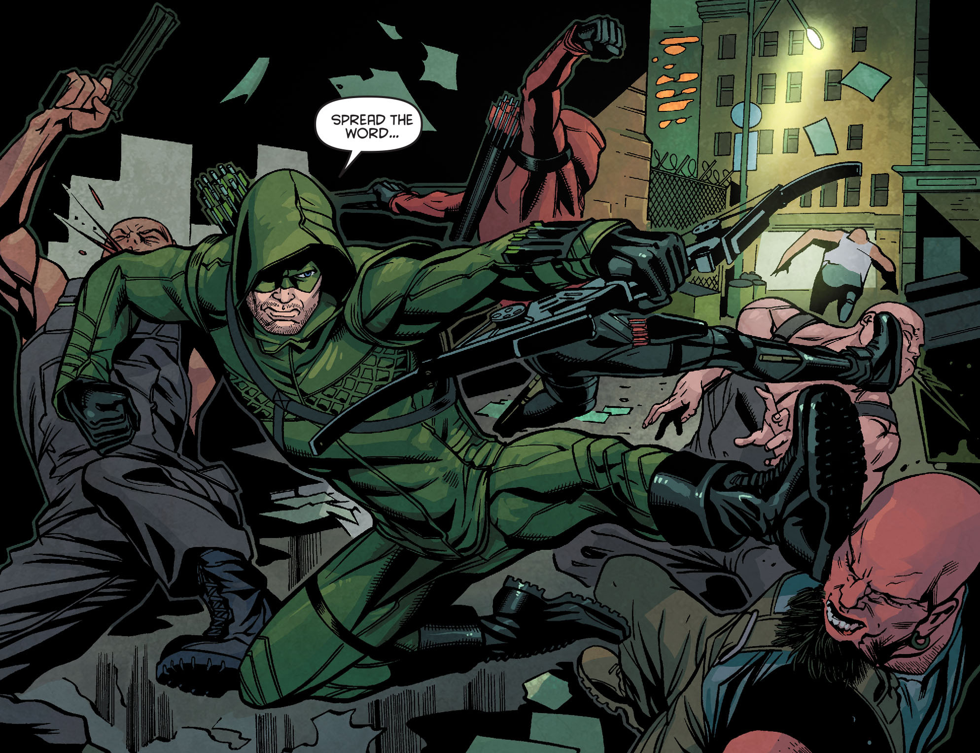 Read online Arrow: Season 2.5 [I] comic -  Issue #24 - 7