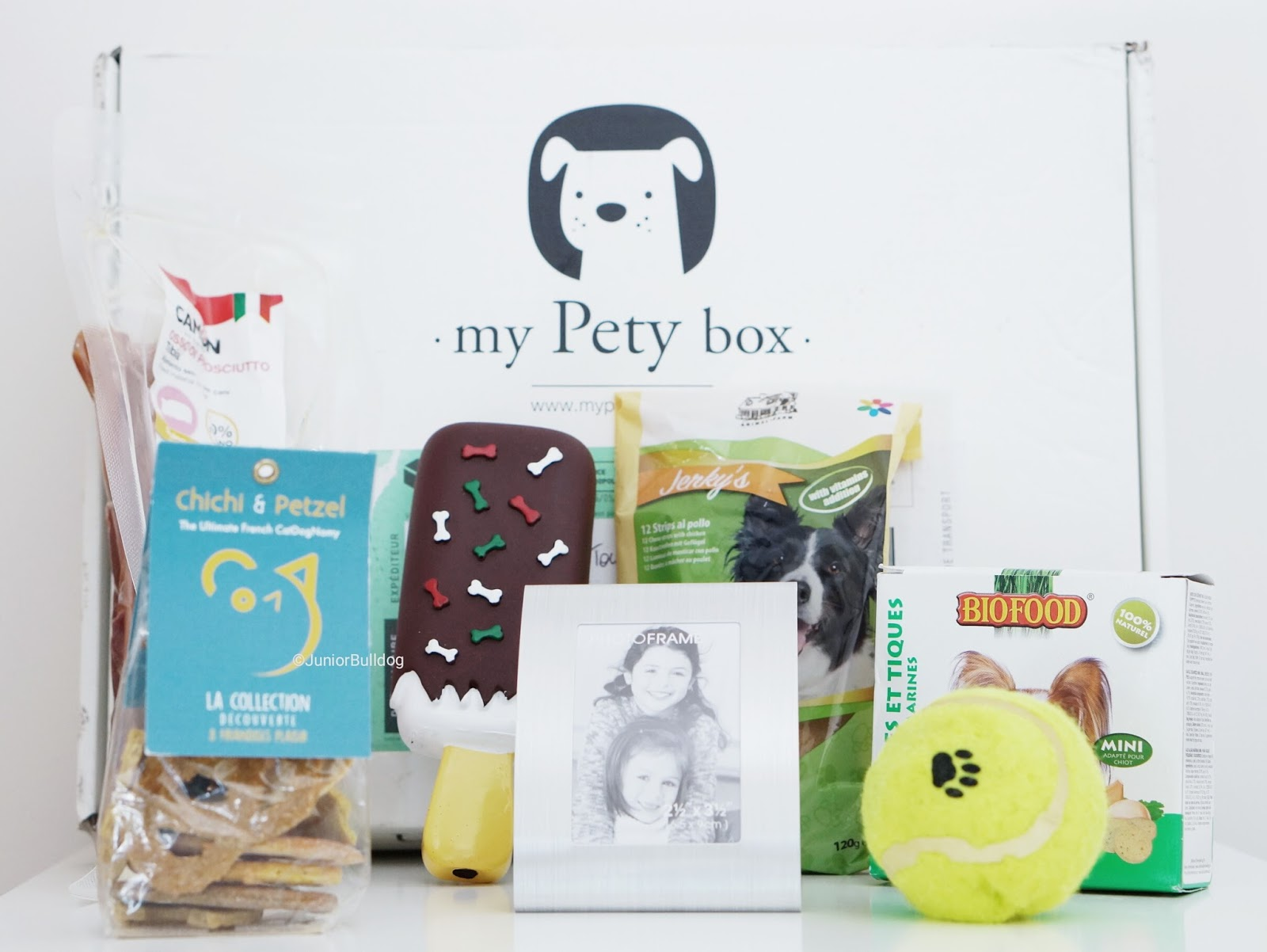 mypetybox unboxing du mois de mai