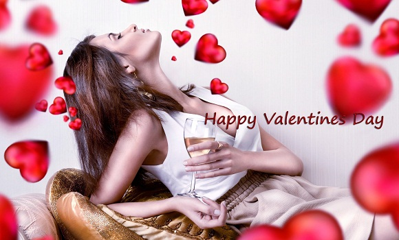 Happy Valentines Day Love Girl HD Wallpaper - Valentine Images For Lovers | Valentines Day Love Wallpapers 2018