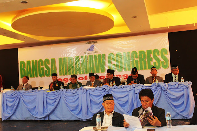 A GROUP OF THE BANGSA MRANAW CONGRESS AIRS APOLOGY FOR LAPSES