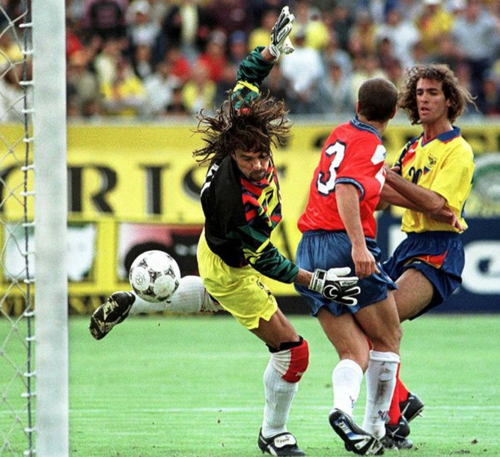 Ecuador y Chile en Clasificatorias a Francia 1998, 8 de junio de 1997
