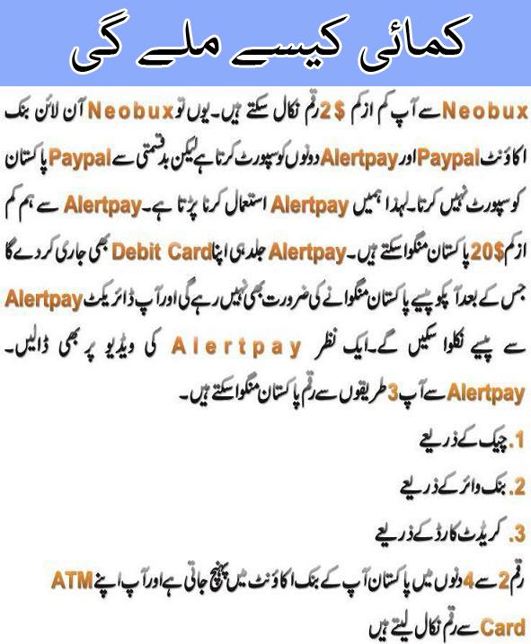 Neobux Urdu Training Pakistan