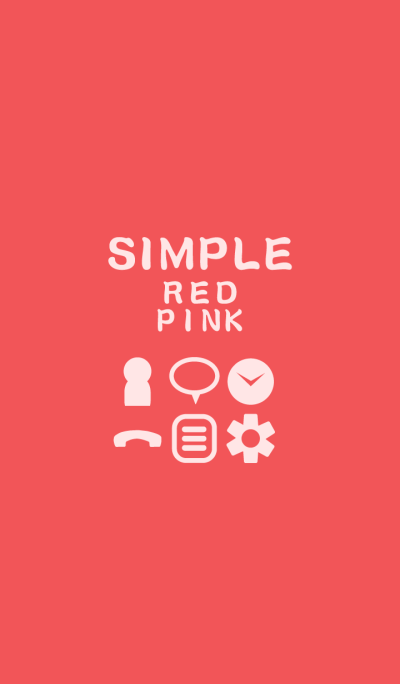 SIMPLE red*pink