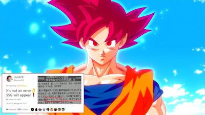 Confirmado Goku Super Saiyajin Deus Aparecerá no Episódio