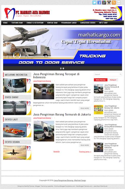 Jasa Pembuatan Website Murah Cargo