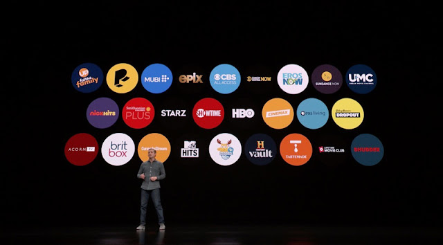 apple tv channels presentación