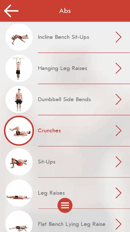 تطبيق اللياقة البدنية Fitness & Bodybuilding للأندرويد 2019 - صورة لقطة شاشة (4)