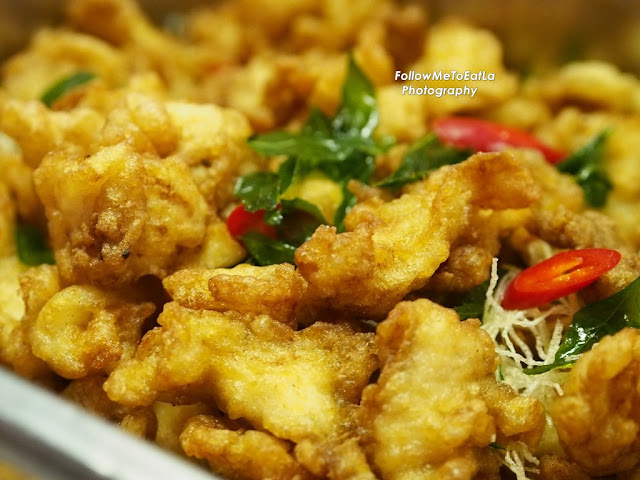 Deep Fried Crispy Fish With Samrod Sauce