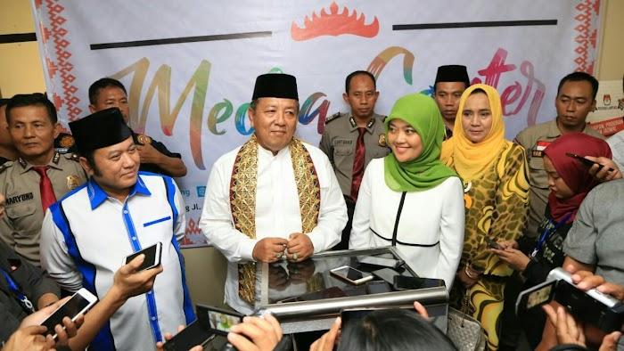 Arinal - Nunik Komitmen Majukan Olahraga Di Provinsi Lampung