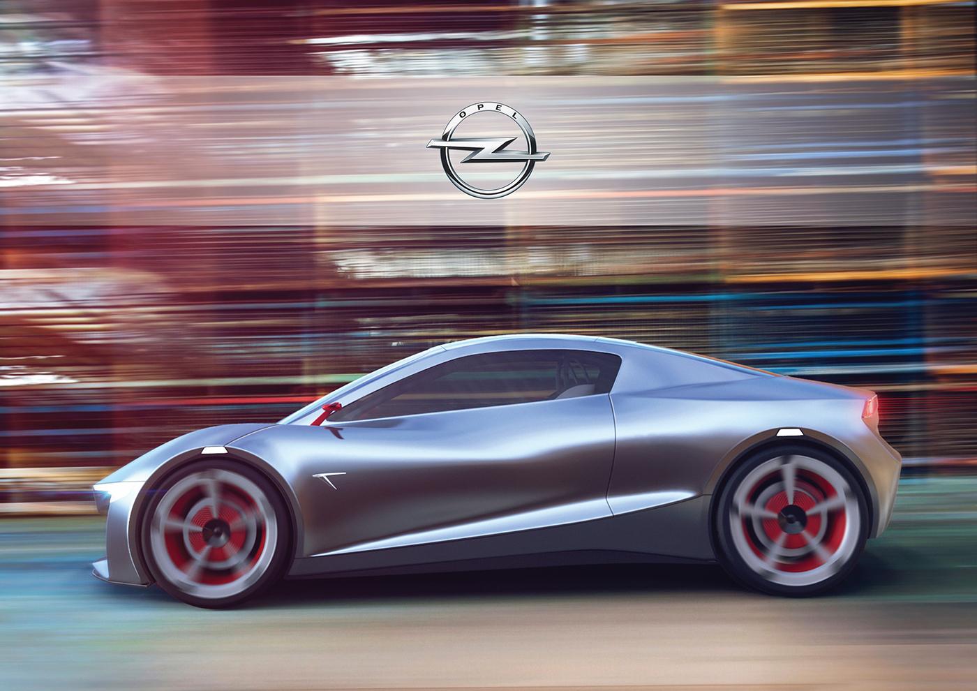 Opel Tigra 2020 Redesign By Kamil Podolak Motivezine