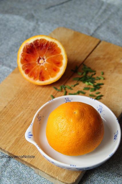 arancia per risotto