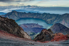 Mt. Rinjani Trek 4 Days 3 Nights Summit via Senaru