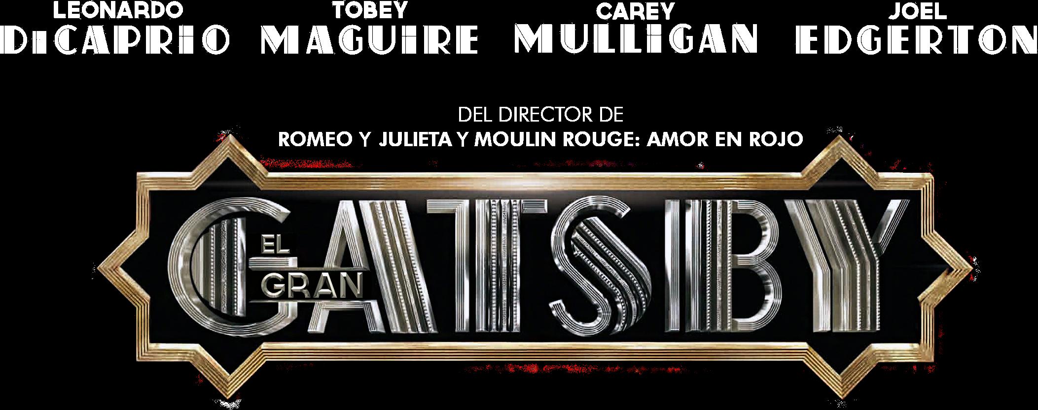 .PNG de Películas!: Logo PNG de THE GREAT GATSBY - EL GRAN ...