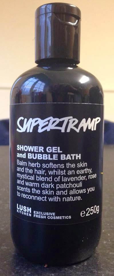 All Things Lush UK: Supertramp Shower Gel and Bubble Bath