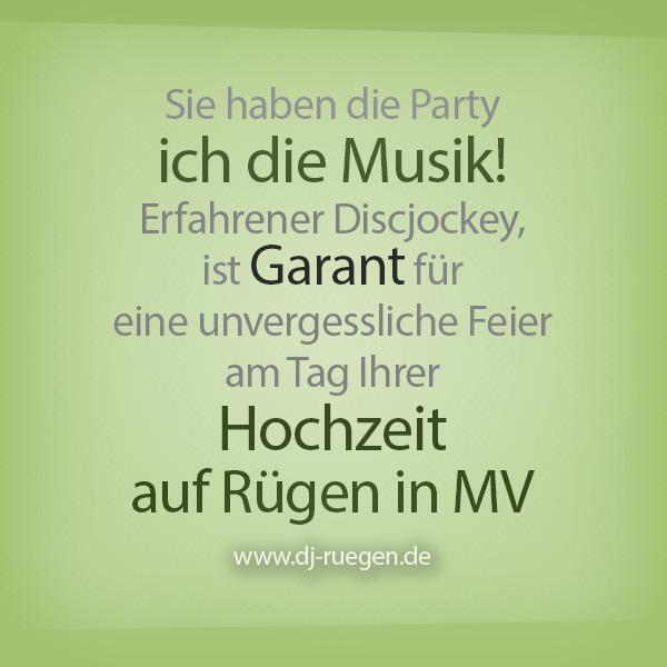 DJ auf Ruegen - DJ Fischer Spezial