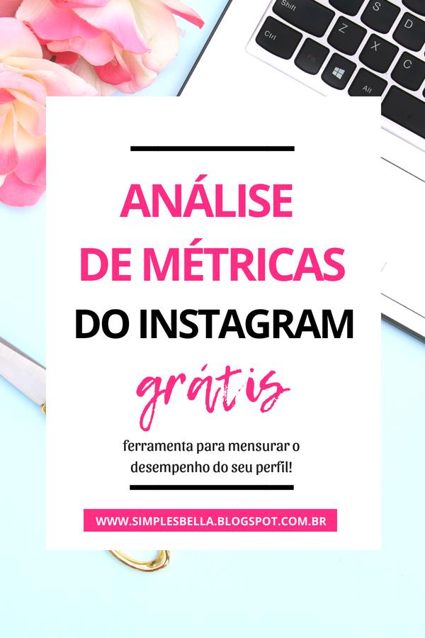 Análise Grátis - Como melhorar o desempenho da sua conta no Instagram