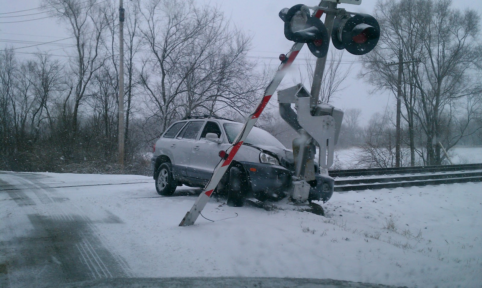 Woodstock Advocate: Driving (or not) on snow