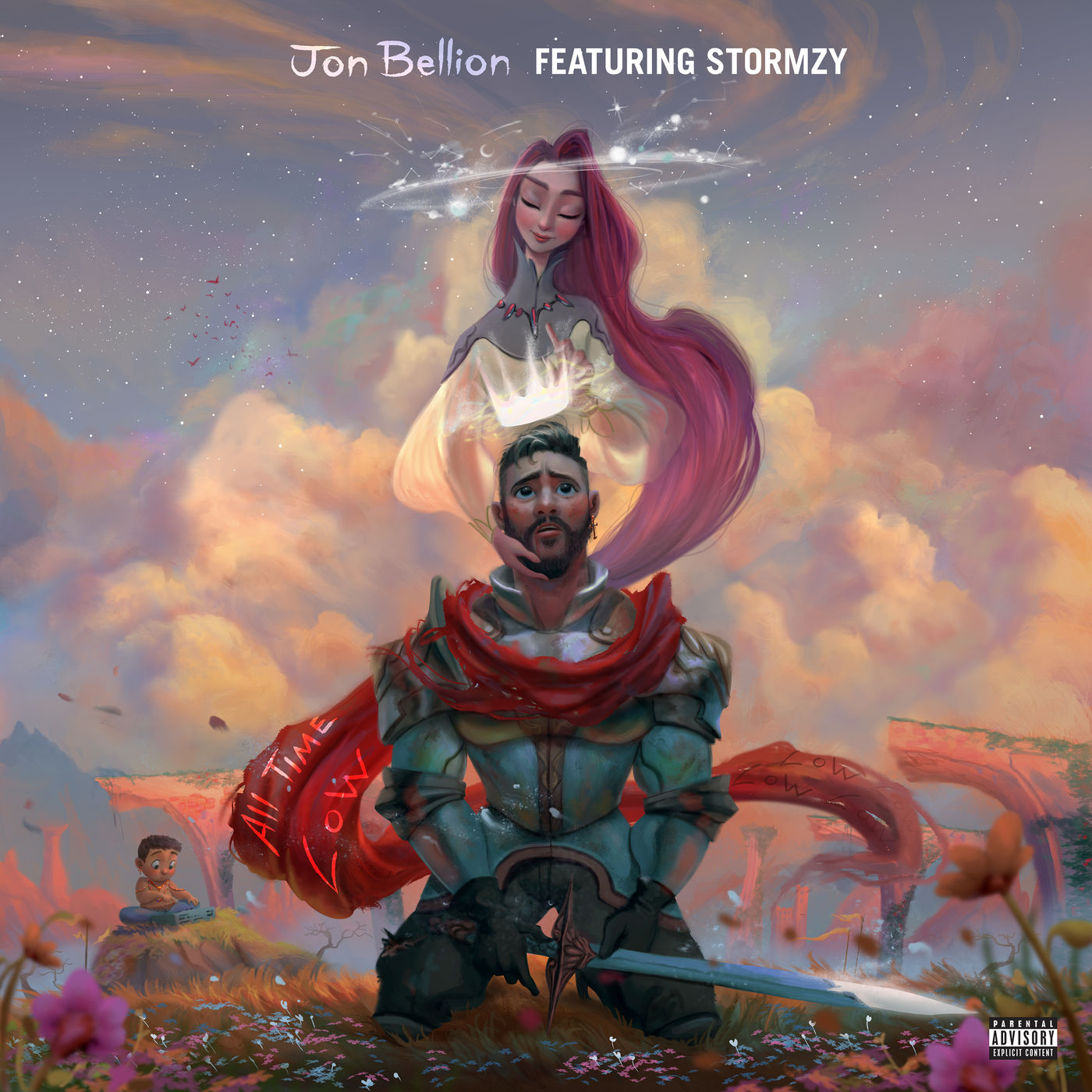 Jon Bellion - All Time Low (feat. Stormzy) - Single Cover