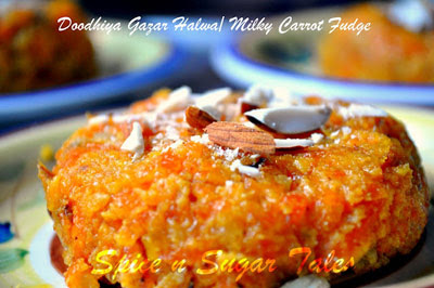 February indian vegetarian recipe roundup lisas kitchen anjali of spice n sugar tales has me drooling over this milky carrot fudge a divine sight indeed even this savory girl could not resist this rather sweet forumfinder Gallery