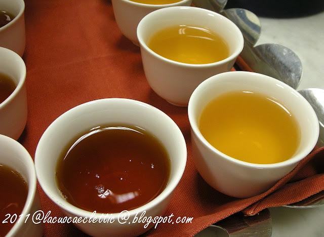 Degustazione di tè freddi