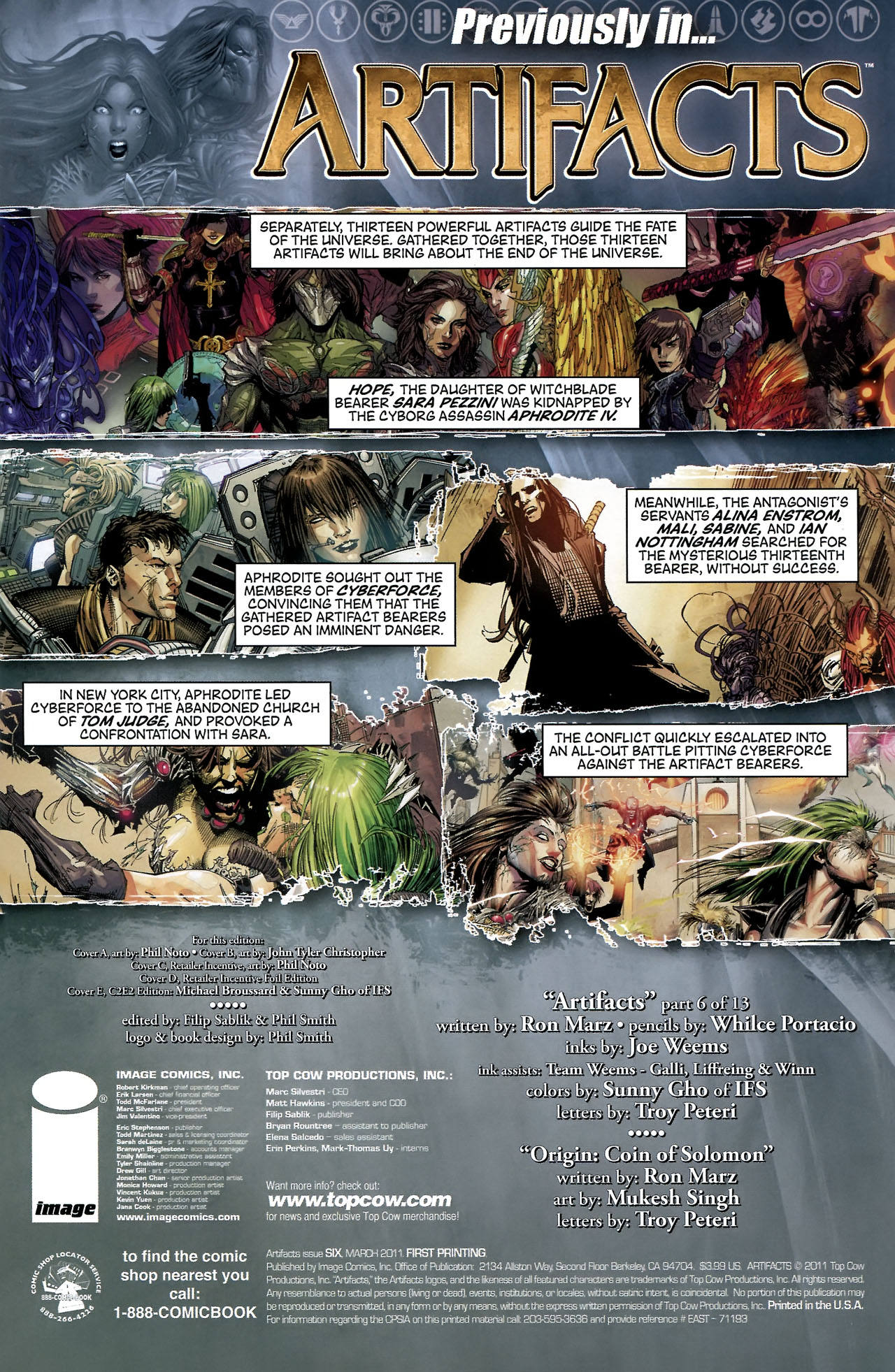 Read online Artifacts comic -  Issue #6 - 4
