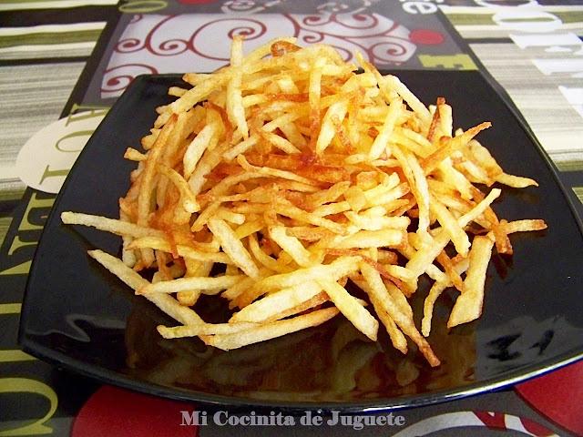 Patatas Paja Caseras
