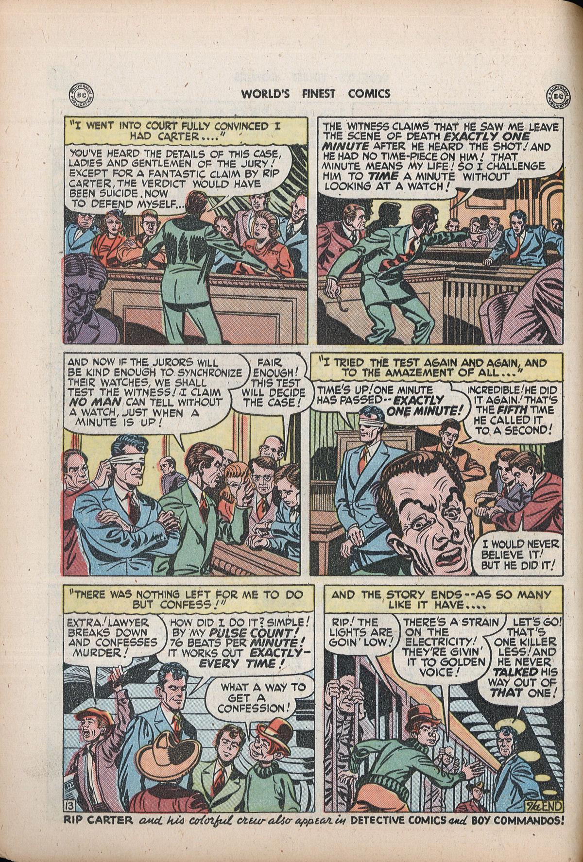Read online World's Finest Comics comic -  Issue #32 - 50