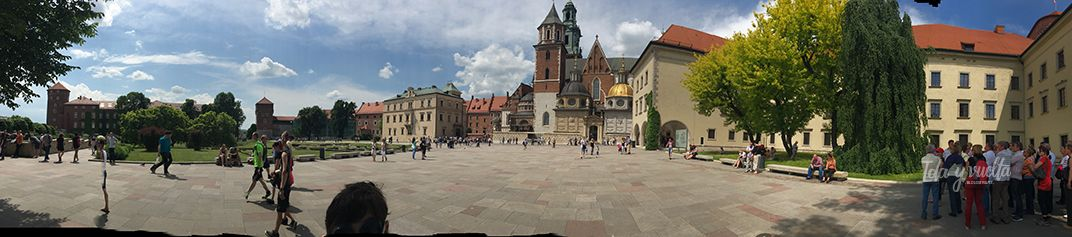 Cracovia fotos panorámica del Castillo y la Catedral