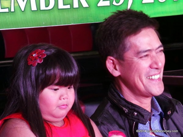 Ryzza Mae Dizon and Vic Sotto