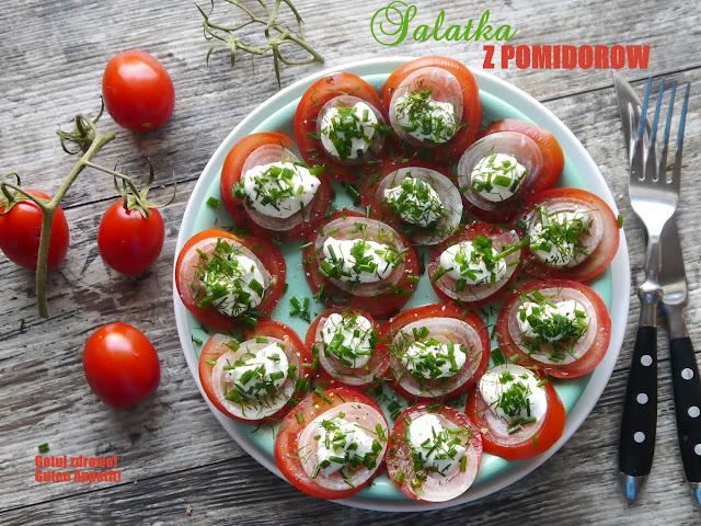 Sałatka z pomidorów - Czytaj więcej »