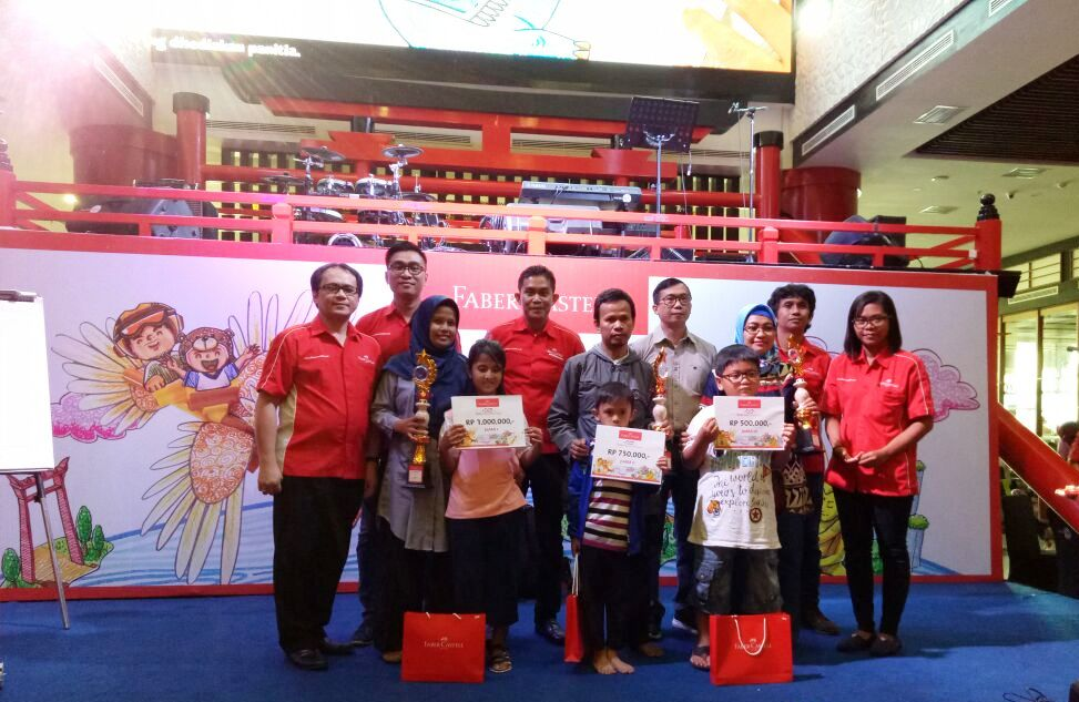 family art competition bersama faber castell bukan lomba