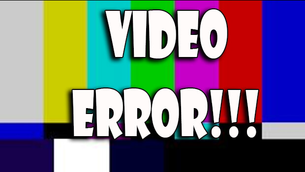 Thông báo báo lỗi Video (Error Video) cho JW Player