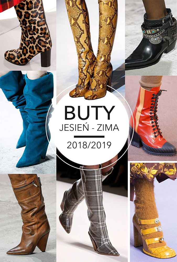 buty jesień 2018/2019