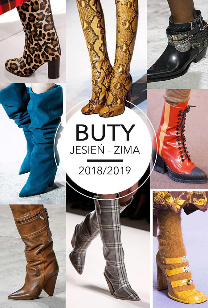 Modne buty jesień-zima 2018/19