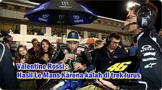 Rossi kalah kecepatan Le mans