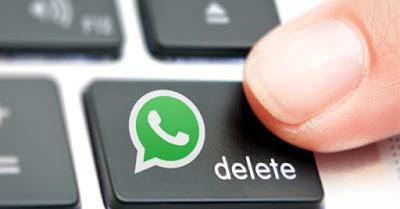 طريقة حذف رسائل الواتس آب قبل أن يقرأها المتلقي