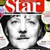 Hitler-bajuszos ábrázolással kíméletlenül nekiment Merkelnek a török sajtó az örmény népirtás ürügyén