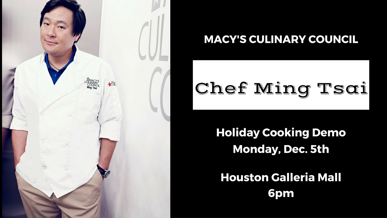 JOIN ME: Holiday Pop-Up Kitchen with Macy\'s Culinary Council Chef ...
