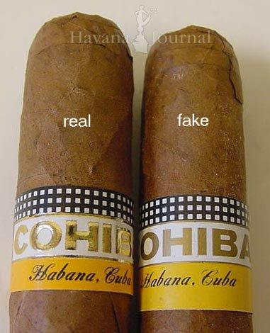 FAKE Montecristo No. 2 vs REAL Montecristo No. 2 Fake ... |Real Cuban Cigars