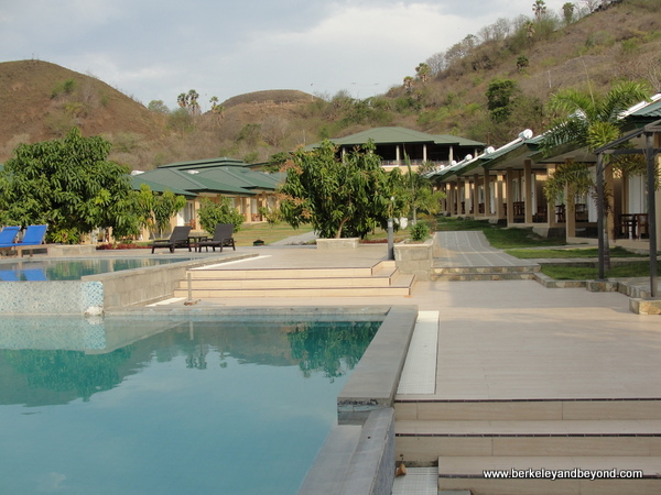 pool at Sylvia Resort Komodo on Flores Island in Indonesia