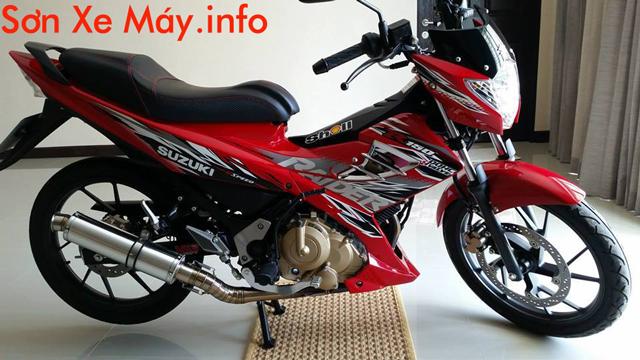 Suzuki Raider 150 sơn màu đỏ zin cực đẹp