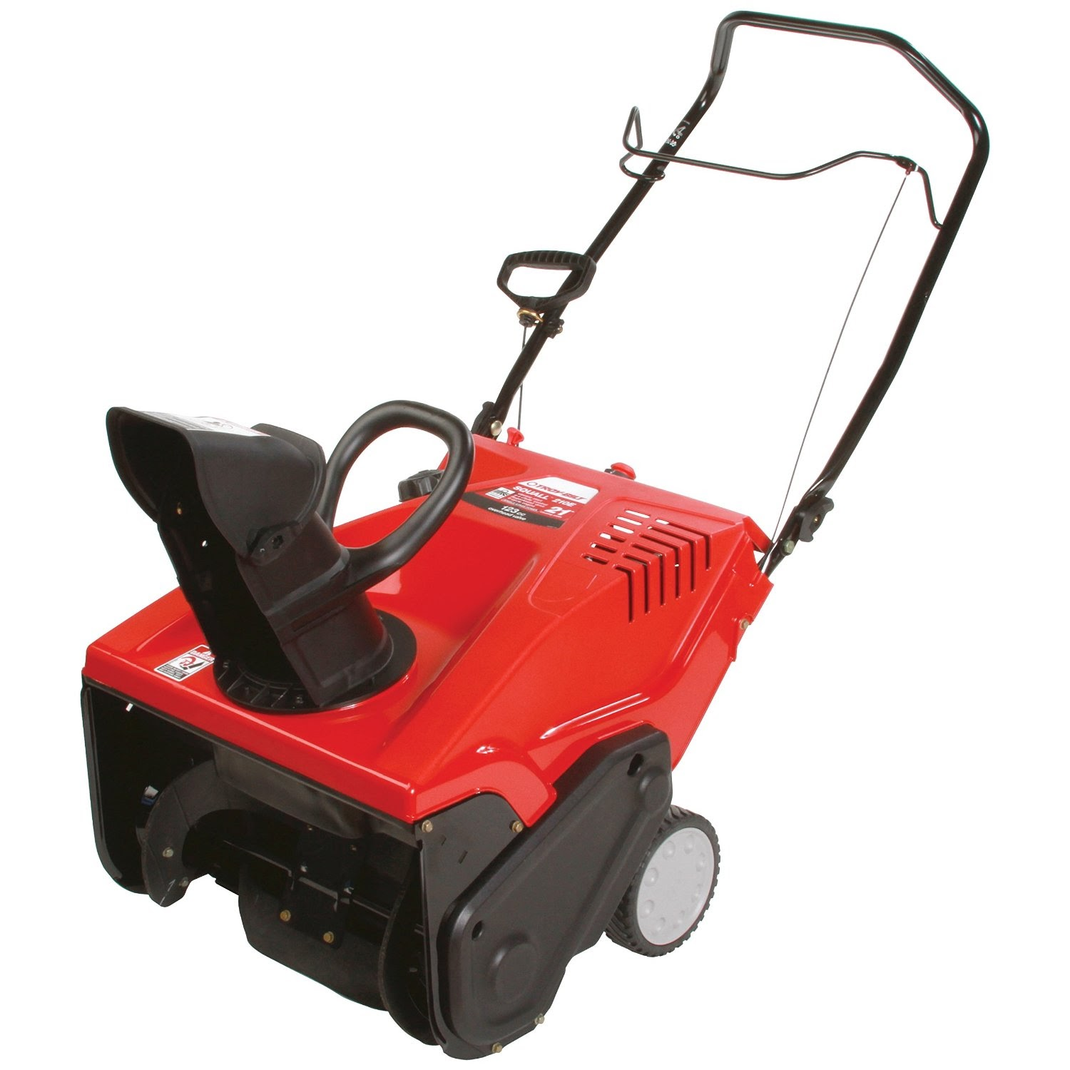 Snow Blower Comparisons >> Home, Garden & More...: Troy-Bilt Squall 210E 123cc 4-cycle Electric Start Single-Stage Snow ...